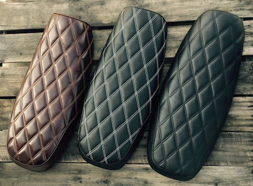 Kickass Custom Seats for the Triumph Bonneville, T100, SE, Black, Thruxton and Scrambler