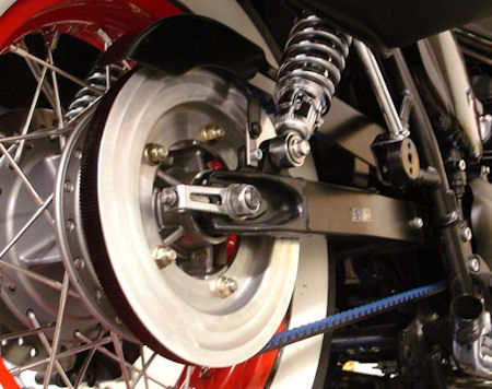 Belt Drive Conversion Kit for the New Triumph Bonneville, T100, Scrambler, SE and Thruxton