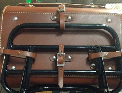 Leather Top Case For The Triumph Bonneville Thruxton And