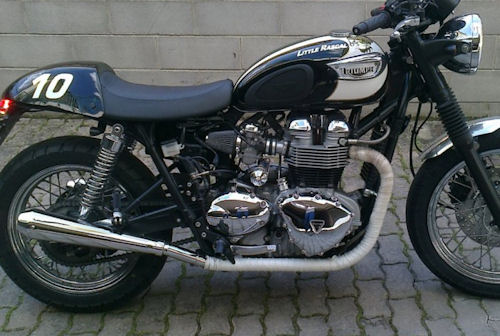 Triumph Scrambler Exhaust Pipes – Idea di immagine del motociclo