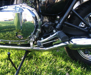 Norman Hyde Rearsets For The New Triumph Bonneville