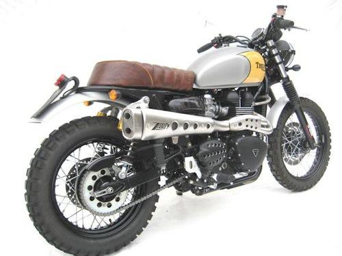 Zard Exhaust for the Triumph Bonneville, SE, T100, Scrambler, Thruxton